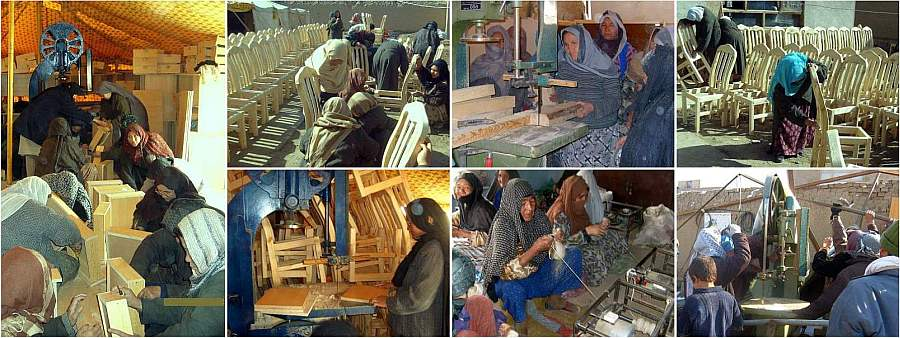 Afghan Furniture Maker